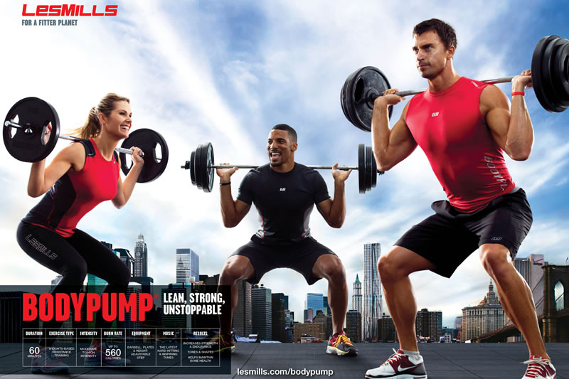 LES MILLS BODY PUMP